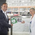 Graz Hauptbahnhof: Defi #200 installiert