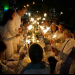 Diner en Blanc in Graz – Ort, Programm, Fotos – Weisses Dinner