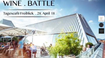 Graz: WINE.BATTLE im Tagescafe Freiblick